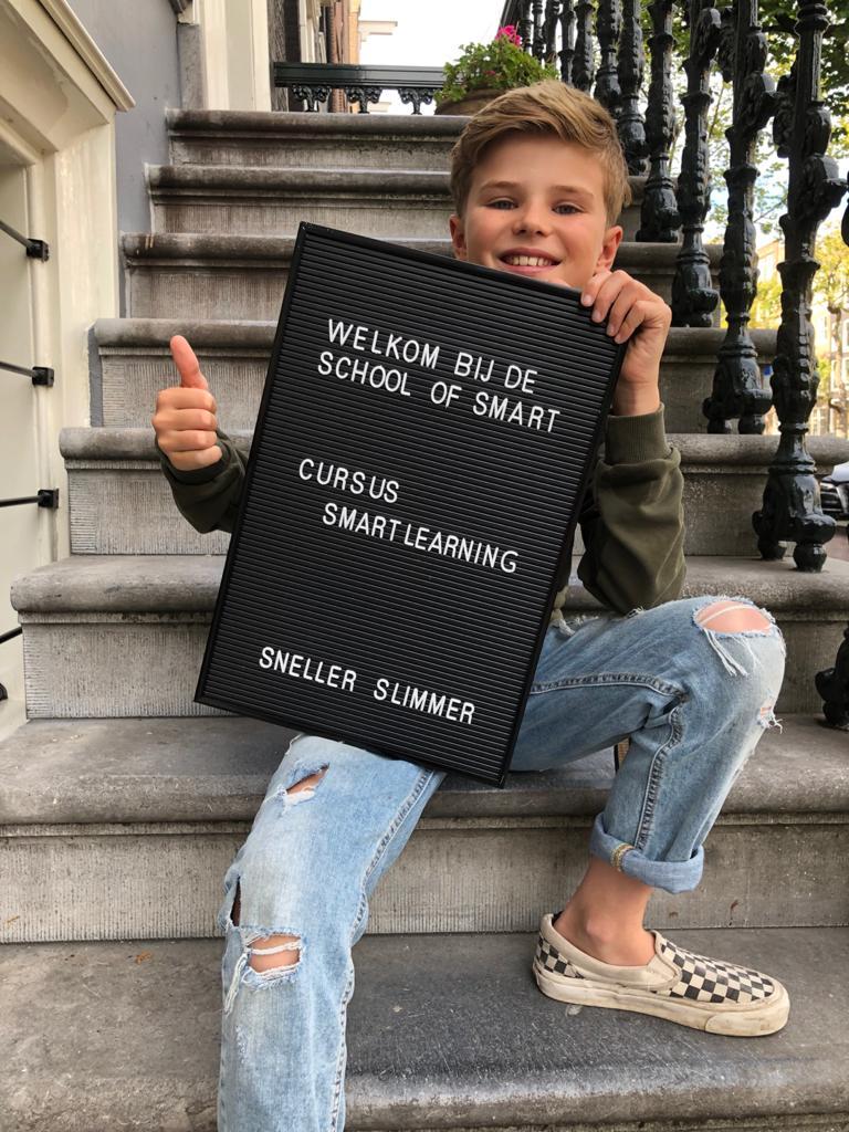 welkom smartlearning op trapje